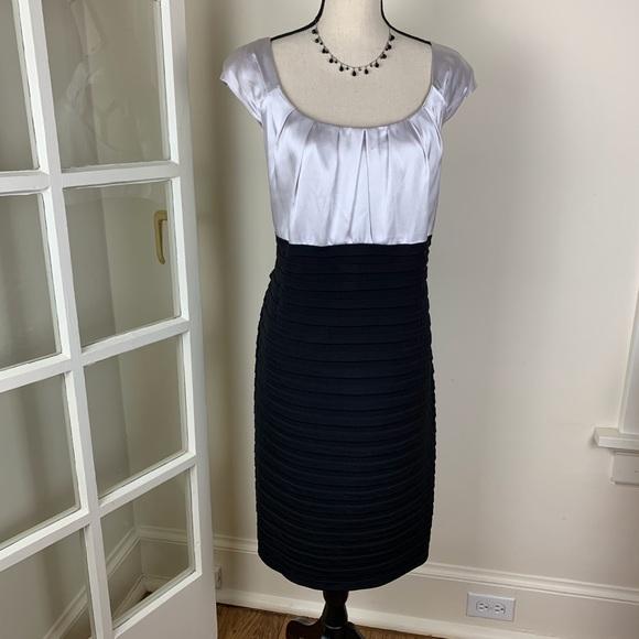London Times Dresses & Skirts - London Times Woman Black/Silver Cocktail  Dress